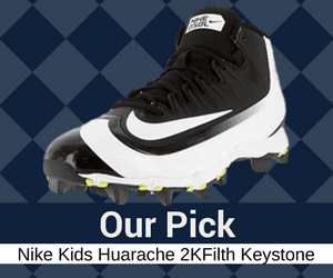 nike kids youth metal baseball size 7