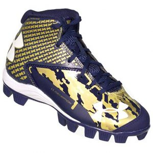 Under Armour Boys' UA Deception Mid RM Jr. Baseball Cleats
