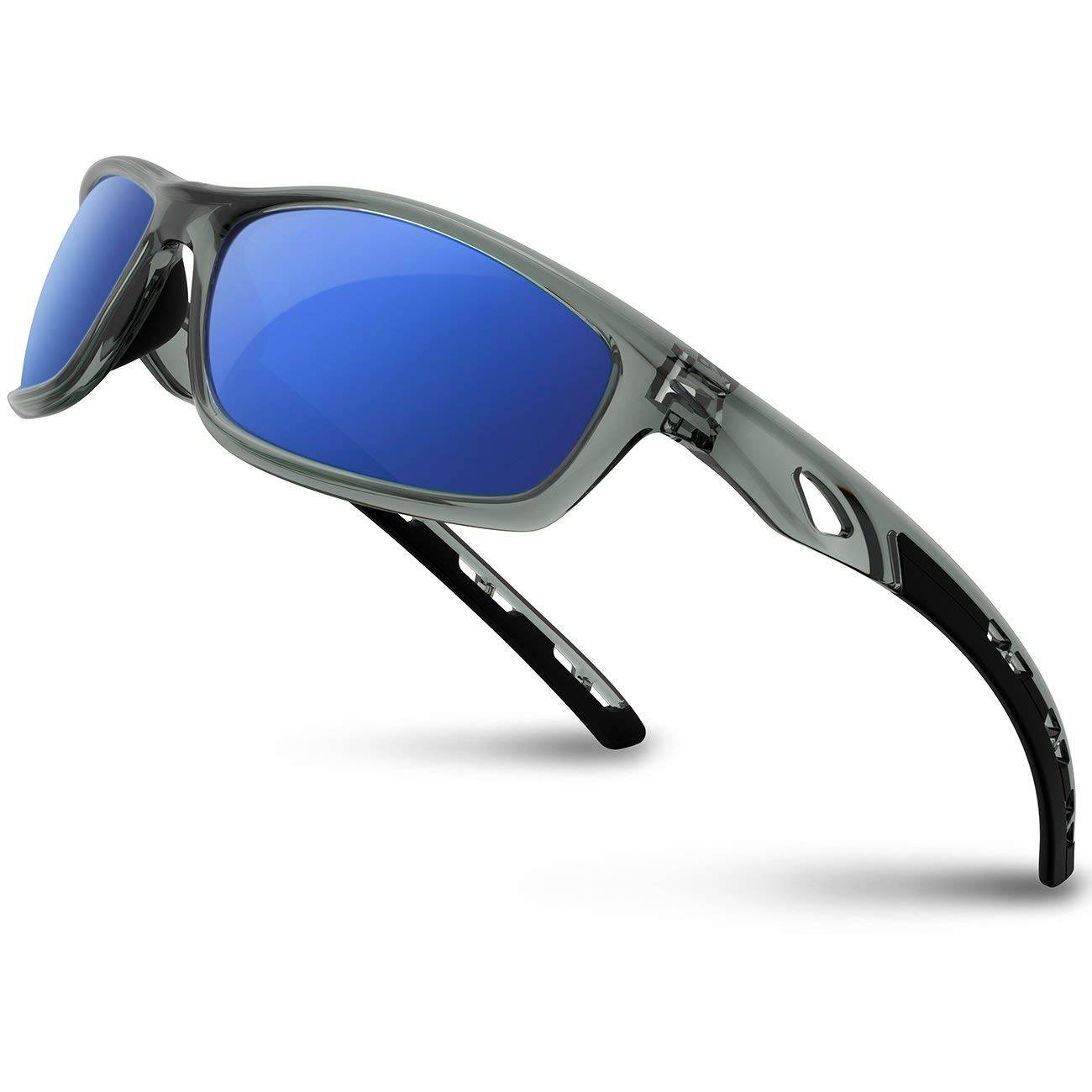 RIVBOS Polarized Sports Sunglasses – TR90 Unbreakable Frame